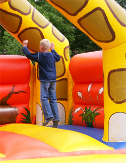 bouncy house