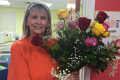 Ms. Sharon celebrates 20 years at the Center