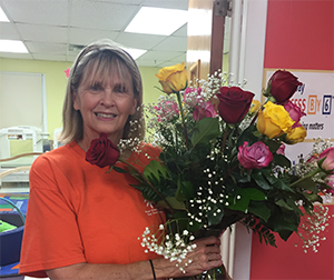 Ms. Sharon celebrates 20 years with the Center