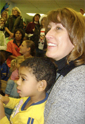 holiday program volunteer